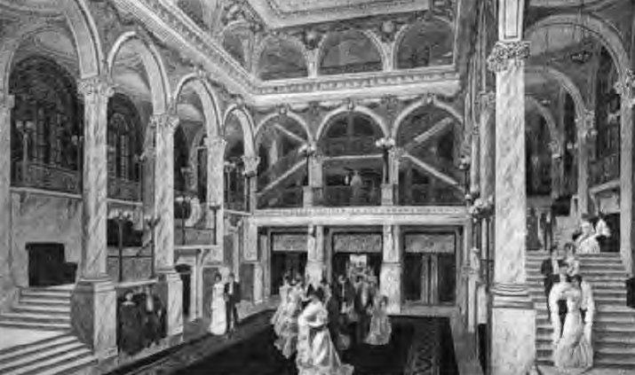 iroquois theatre foyer